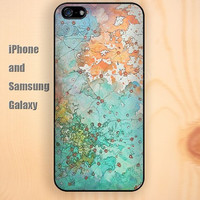 Watercolor world map pattern colorful iphone 6 6 plus iPhone 5 5S 5C case Samsung S3,S4,S5 case Ipod Silicone plastic Phone cover Waterproof
