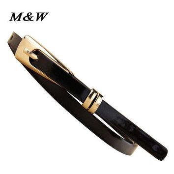ESBU3C New Arrivals Fashion Women Belt Brand Designer Hot Ladies Faux Leather Metal Buckle Straps Girls Fashion Accessories for Ladies