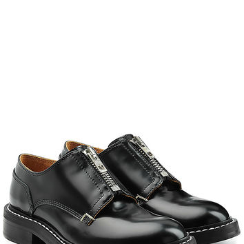 Rag & Bone - Leather Shoes with Zippers