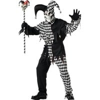 Evil Jester Costume for Men