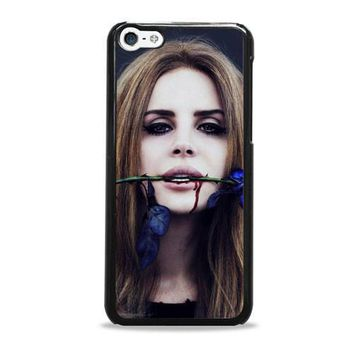 Lana Del Rey Rose On Her Lips Supreme iPhone 5c Case