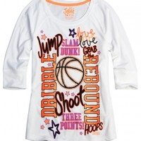Sports Icon Tee  | Girls Active Outfits New Arrivals | Shop Justice