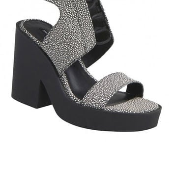 Windsor Smith - Pippie Heel - Black/White