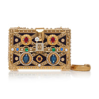 Embellished Trunk Box Clutch | Moda Operandi