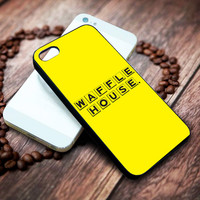 waffle house Iphone 4 4s 5 5s 5c 6 6plus 7 case / cases