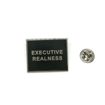 Executive Realness Lapel Pin (Limited Edition)