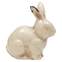 Threshold™ Ceramic Animal Statue - Crackle Glaze