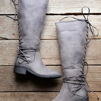 Miraculous Calf Boot, Taupe | Very Volatile