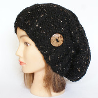 Black Slouch Hat