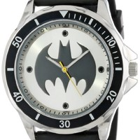 Batman Men's BAT9062 Analog Watch With Black Rubber Band