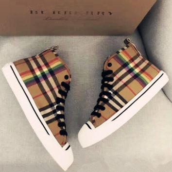Burberry fashion casual shoes