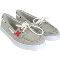 Nebraska Cornhuskers Ladies Kauai Boat Shoe