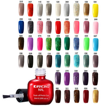 47 Colors Charming Nail Art UV Gel Polish Soak-Off