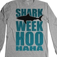 Heather Grey T-Shirt | Cute Shark Week Shirts