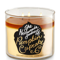 Pumpkin Cupcake 3-Wick Candle | Bath And Body Works