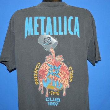 90s Metallica Fan Club 1997 t-shirt Extra Large