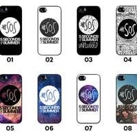 SOS - 5SOS Collection - 5 Seconds Of Summer Collection - iPhone 4 / iPhone 4S / iPhone 5 / iPhone 5C / iPhone 5S