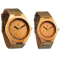 Couples Wooden Watches // Boyd Gold
