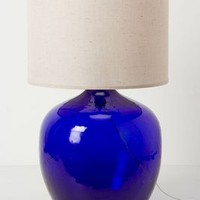 Found Decanter Lamp Ensemble by Anthropologie