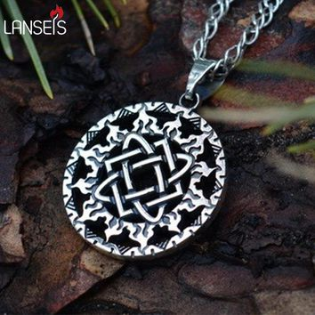 1pcs Lada Star symbol pendant Pagan Slavic Amulet  symbol warrior talisman pendant norse Occult  Pendant Germanic men necklace