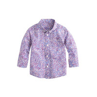 crewcuts Baby Liberty Shirt In Lagos Laurel Floral