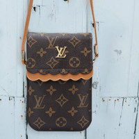 LV tide brand female models mini fashion wild mobile phone bag slung shoulder bag