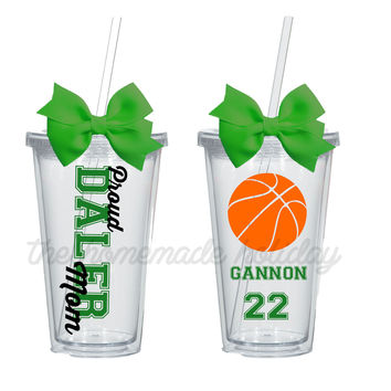 Basketball Mom Insulated Tumbler