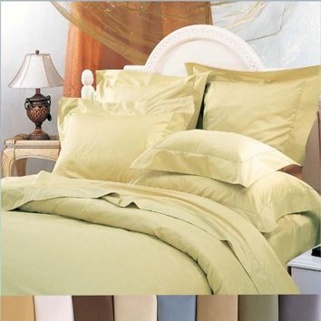 Wrinkle Free Duvet Covers 650TC Combed Cotton