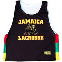 Jamaica Lion Lacrosse Sublimated Pinnie