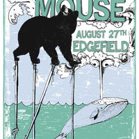 Modest Mouse Bear and Whale Poster 11x17