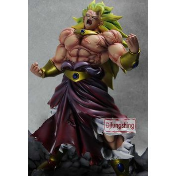 Dragon Ball Kai 14″ Wild Broly 3 Resin Statue