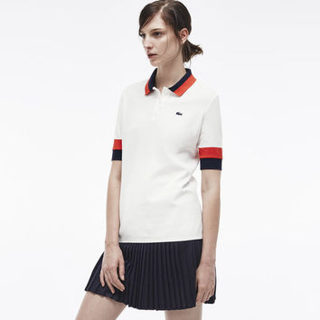 Casual fit Lacoste polo Edition Made in France in petit piqué