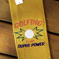 Golf Hand towel ( Handmade 100% cotton Golf Hand Towel )