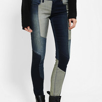 Urban Outfitters - BLANKNYC Pieced Colorblock Skinny Jean