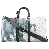 Louis Vuitton NEW Limited Edition Mono Men's Travel Weekender Tote Duffle Bag