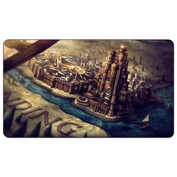 Game of Thrones Kings Landing Playmat A Song of ice and fire Kings Landing Magic Playmat for Board Game Table Mat