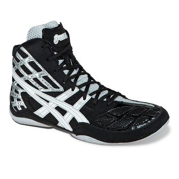 ASICS Split Second 9 Wrestling Shoes - Men (Black)