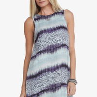 Carly Dress in Ombre Snake