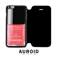 Chanel Nail Polish Distraction iPhone 6S Plus Flip Case Auroid
