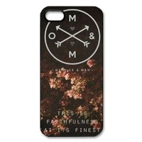 Of Mice and Men Hard Plastic Back Protective case for iphone 5, 5S