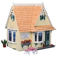 Greenleaf Storybook Cottage Dollhouse Kit - 1 Inch Scale | www.hayneedle.com