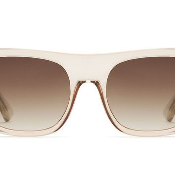 Quay Something Extra Champagne Sunglasses / Gold Lenses