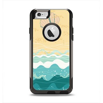 The Vector SeaShore Apple iPhone 6 Otterbox Commuter Case Skin Set