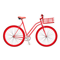 Martone Cycling Co. Women's Gramercy - Red Bike - ShopBAZAAR