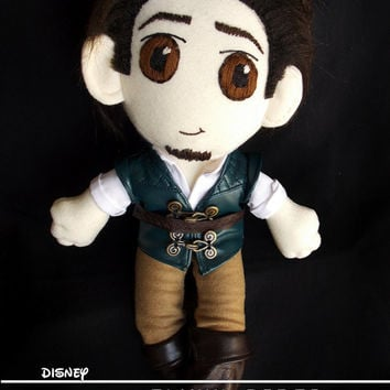 Disney Flynn Rider Tangled Plush Doll Plushie Toy Ragdoll