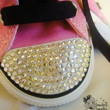 baby girls boys childrens sneakers pink shoes all star converse bling shoes made with