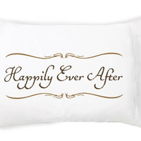 Happily Ever After Pillow Case Set  by Faceplant Dreams