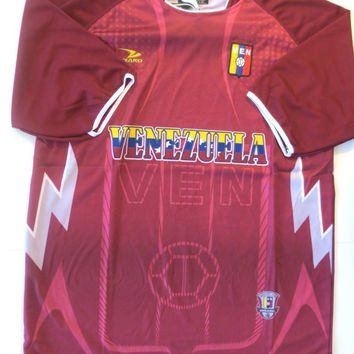 VENEZUELA SOCCER JERSEY ONE SIZE LARGE.NEW