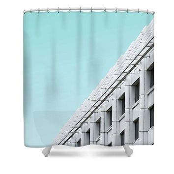 Urban Architecture - Oxford Street, London, United Kingdom - Shower Curtain