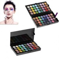 64 Colors Professional Palette EyeShadows Makeup Cosmetics Box